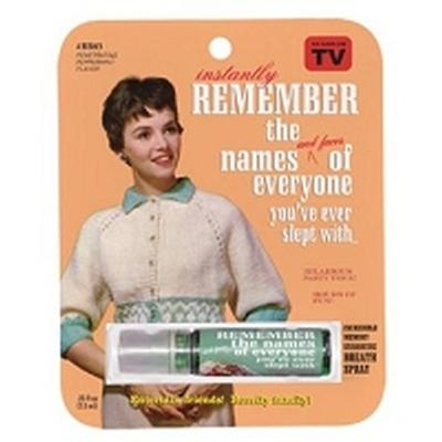 Click to get Remember the Names Breath Spray