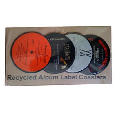 Click to get Recycled Album Coasters