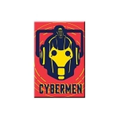 Click to get Doctor Who Magnet Cyberman Head