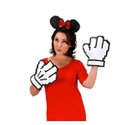 Click to get Minnie Pixel Ears  Gloves