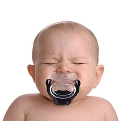Click to get Baby Goatee Pacifier