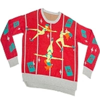 Click to get Ugly Christmas Sweater Pole Dancing Elves 1st Edition
