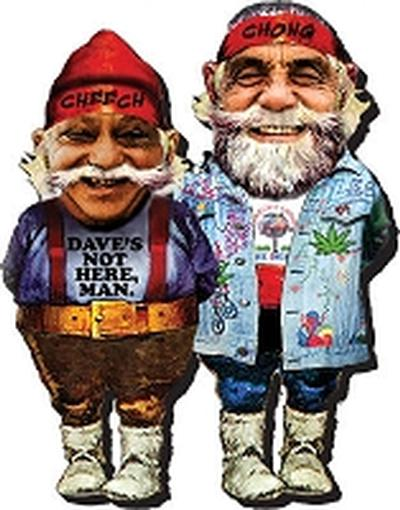 Click to get Cheech and Chong Gnome Magnet