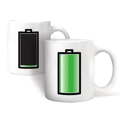 Click to get Liquid Activated Battery Mug