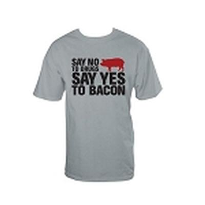 Click to get No Drugs Yes Bacon TShirt Black