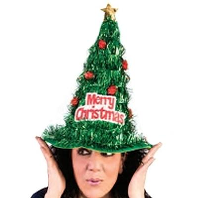 Click to get Christmas Tree Tinsel Hat
