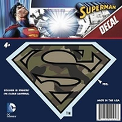Click to get Superman Logo Car Decal Camo 1