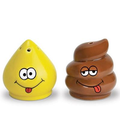 Click to get Pee and Poop Salt and Pepper Shaker Set