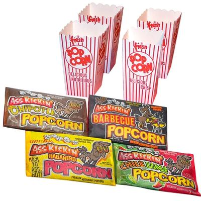 Click to get 4 Wild Flavors Popcorn Pack