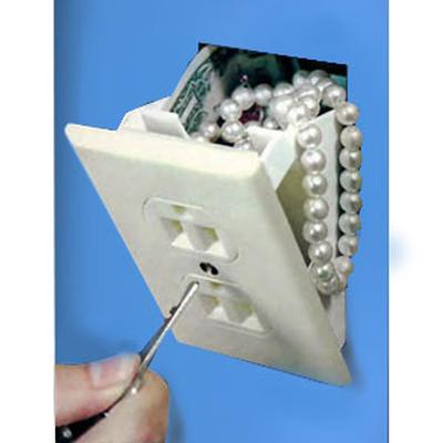 Click to get Hidden Wall Safe   Electrical Outlet